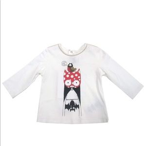 Little Marc Jacobs Long Sleeve T Shirt Bat 18 mos